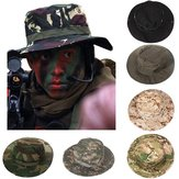 Outdoor Camping Hiking Cap Camouflage Men Jungle Bush Hat Hunting