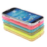Colorful Bullet Proof Vest Soft TPU Case For Samsung Galaxy S4 i9500