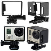 LCD Screen Border Marco Frame Mount Protective Case For Gopro 3 plus 4