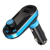 12-24V Dual USB Charger Wireless Bluetooth Car Kit MP3 Player FM Transmitter AUX