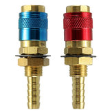Gas&water Quick Connector Fitting Hose Connector For Tig Welder&Torch