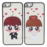 Cute Romantic Wedding Lovers Couple Hard Back Case Cover For iPhone 5