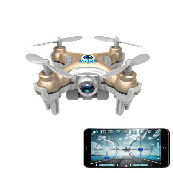 Cheerson CX-10W CX10W Mini Wifi FPV With Camera 2.4G 4CH 6 Axis LED RC Quadcopter