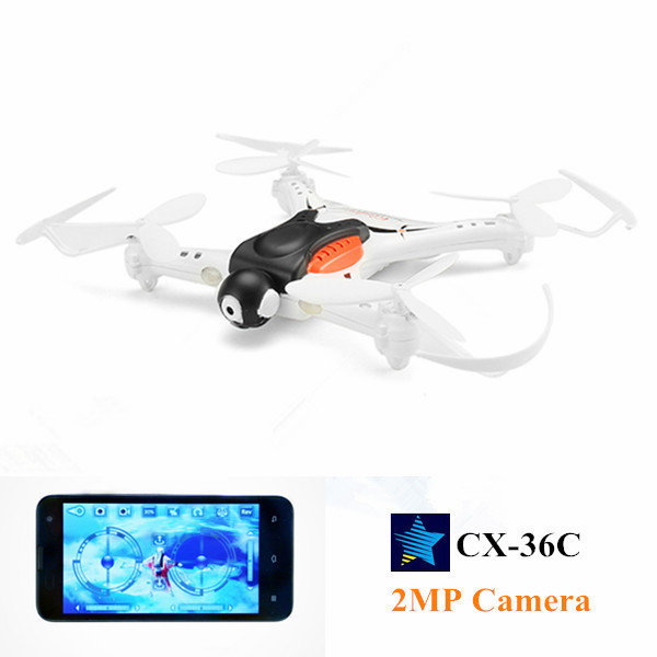 Cheerson CX-36C CX36C With 2MP Camera Mini WiFi APP Control RC Quadcopter RTF