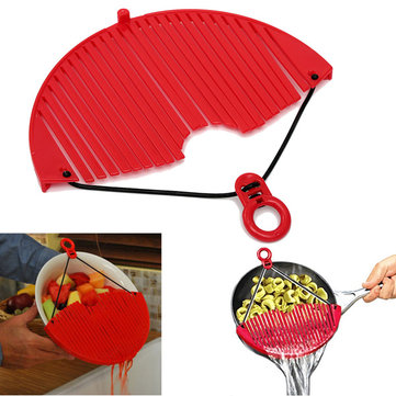 Japanese Style Oil Dipper Colander Spoon Oil Filter Spoon