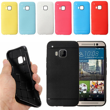 Honeycomb Ultra Slim TPU Back Cover Case For HTC One M9