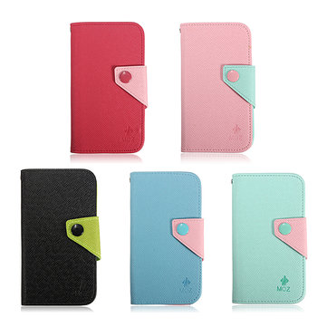 Flip Leather Wallet Card Case Stand For Samsung Note 2 N7100