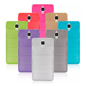 Colorful TPU Slim Soft Back Cover Case For Xiao MI4 M4