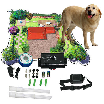 New Underground Electric Dog Pet Fencing Fence Shock Collar 49681