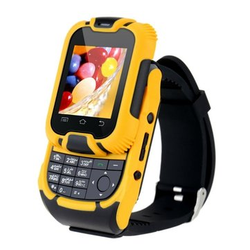 Ken Xin Da W10 1.44-inch Slip Cover SC6531 0.32GHz Touch Screen Watch Phone