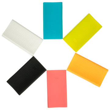 Xiaomi Mobile Power Pack Silicone Cover Case For MI 20000mAh Power Bank Battery