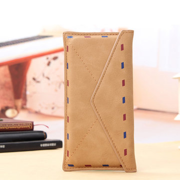 Universal Mail Bag Retro Envelope Design Flip PU Leather Protective Sleeve Pouch For iPhone 6/6s 4.7