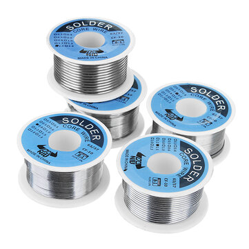 DANIU 100g 63/37 Tin Lead Rosin Core 0.5-2mm 2% Flux Reel Welding Line Solder Wire