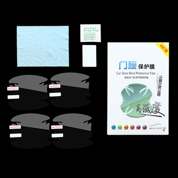 Car Door Bowl Paint Protective Film Dedicated Handle Scratch Sticker for New Ford Focus 2015