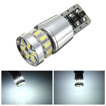 T10 168 194 2825 W5W White 3014SMD 18LED Map Light Bulb