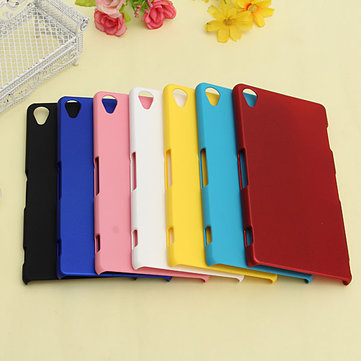 Ultra Slim Thin Matte PC Hard Back Cover Case Skin For Sony Xperia Z3 Cellphone