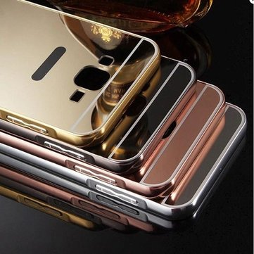 Buy Mirror Aluminum Metal Frame Plating Acrylic Back Cover Samsung Galaxy on5