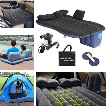 Car Air Bed Outdoor Camping Seat Rest Inflatable Mattress