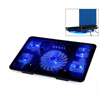 Notebook Laptop cooling pads 5 Fans Laptop Gaming Cooling Base Non-slip Mat Design