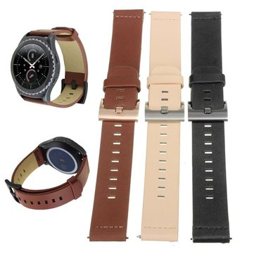 PU Leather Watchband Wristband Strap for Samsung Galaxy Gear S2 Classic SM-R732