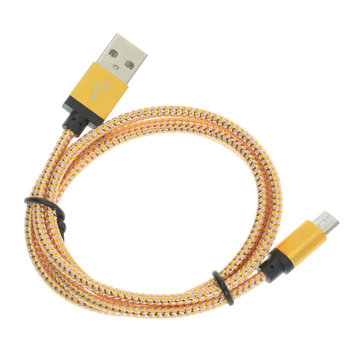 Hat prince 1M 1.8A Data Sync Charging Discolour Micro USB Cable For Xiaomi Samsung