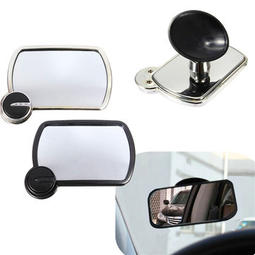 Car In Sight Rear Facing Baby Child Wide Angle Easy View Safety Mirror Sucker
