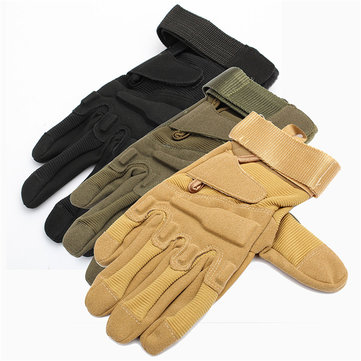 Motorcycle Military Tactical Airsoft Hunting CS Shooting Gloves