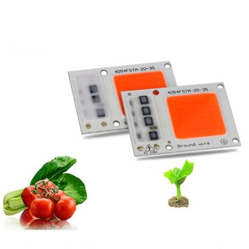 20W 30W Full Spectrum LED COB Chip Plant Grow Light for Indoor Vegetable Flower Seeding AC220V
