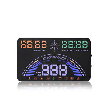 S7 5.8 Inch Car HUD Head Up Display Combine OBD &GPS HUD