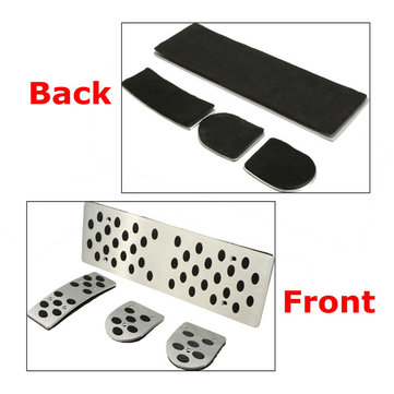 Foot Rest S-Line Pedals Pads Set For Audi A4 A4L A5 A6 A6L A8 A8L B6 B7 B8 Q5 MT