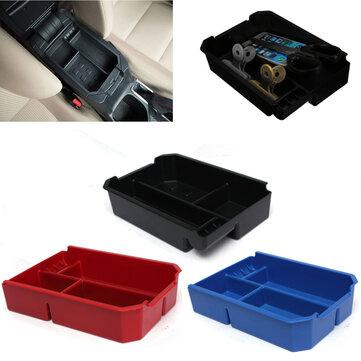 Car Center Console Glove Armrest Storage Box Tray For Toyota RAV4 13-15