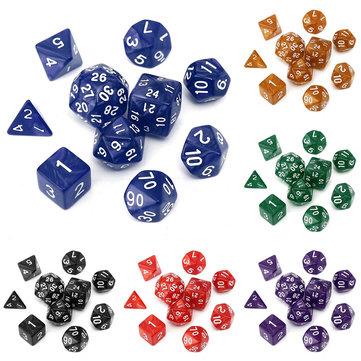 10pc set juegos de juego TRPG