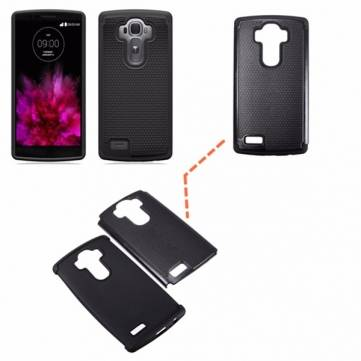 Thin Football Grain Shockproof Soft Silicone Hard Back Case Cover For LG G4