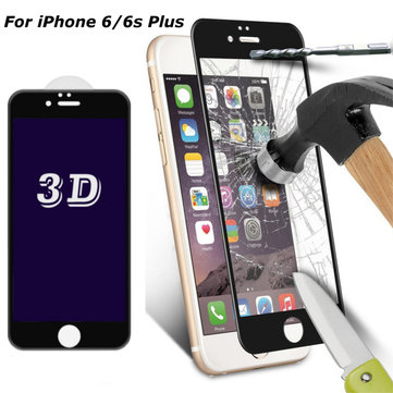 0.33mm 3D Curve Edge 9H Anti Blue Light Tempered Glass Screen Protector For iPhone 6/6s Plus 5.5