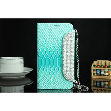 Diamond Luxury Fish Scale Leather Case For Samsung Galaxy Note2 N7100