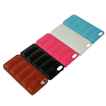 Snake Grain Pattern Touch PU Leather Case For iPhone 5 5S