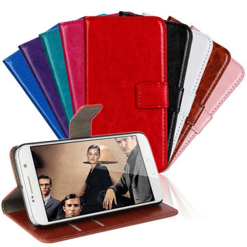 Wallet PU Leather Stand Case Cover For Samsung GALAXY S6 G9200
