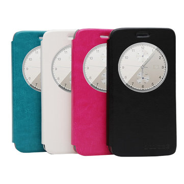 Flip View Window Protective Leather Case For Doogee Y100