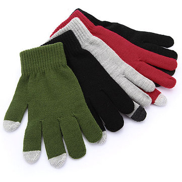 Capacitive Touch Screen Gloves Hand Warmer for iPhone 5 4 3