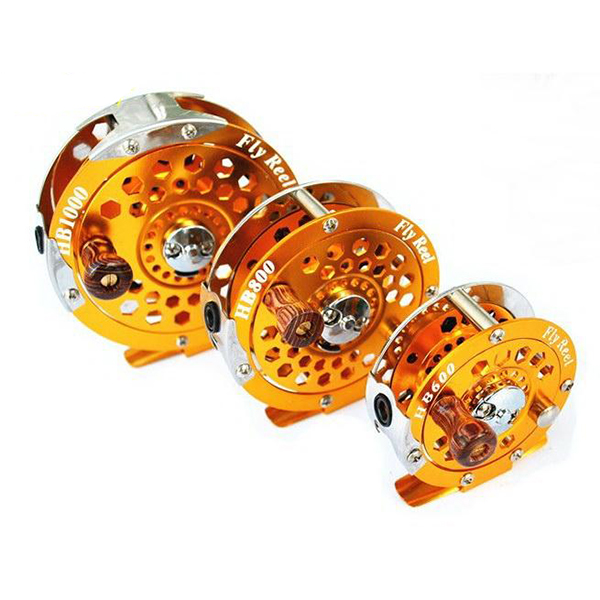 Removable Aluminum Flying Fishing Reels Can Be Swap Lef