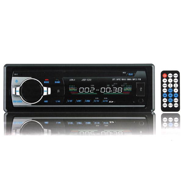 12V Car in Dash BT Stereo Radio Head Unit 1 Din MP3 Pla