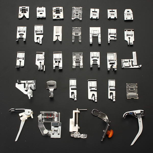 Sewing Machine Presser Foot Feet Kit Set For Brother Si