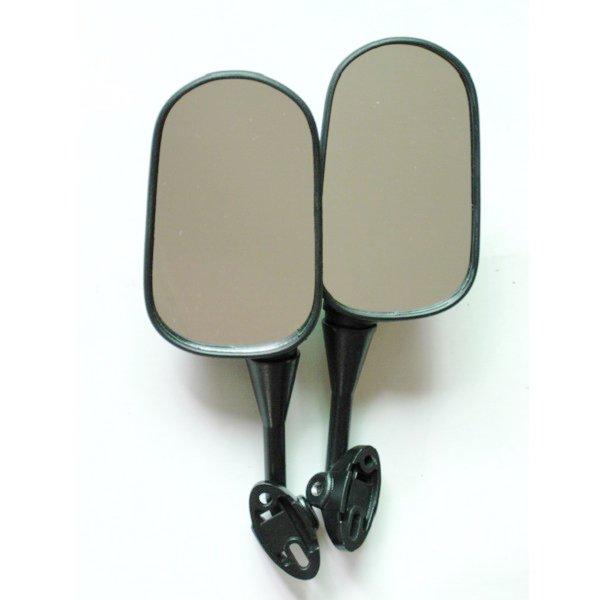 1Pair Rear View Mirrors For Honda CBR600 F4 99-00 F4I 0