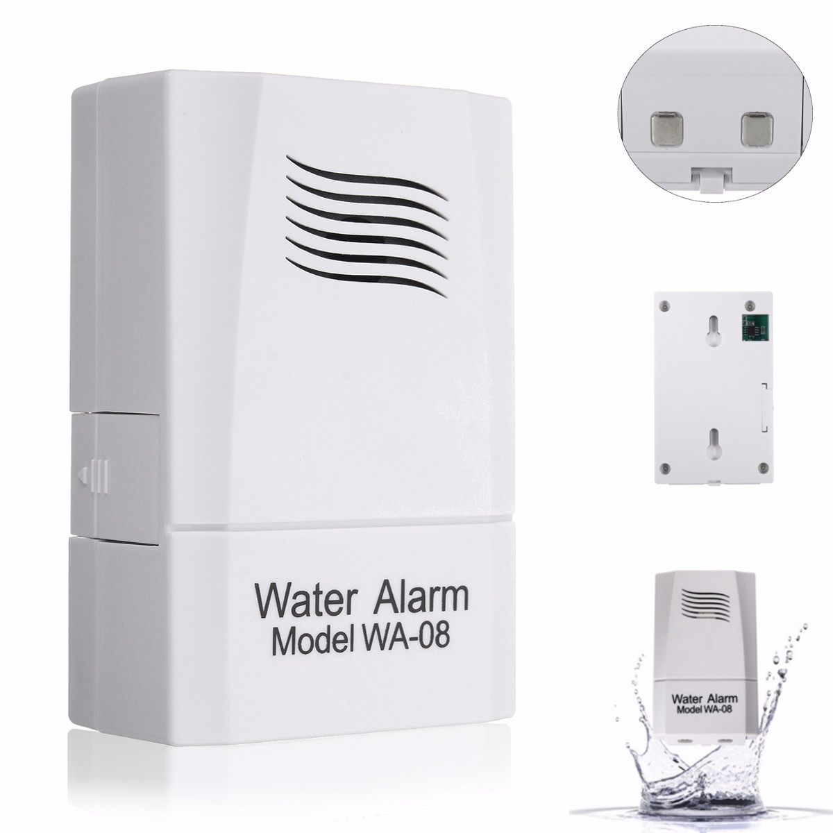 WA-08 Wireless Water Leak Sensor Water Level Alarm Aler