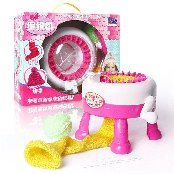 Kids Loom Toy HandmakeTextile Machine Developmental Toy Kids Sewing Kits Multi-Craft Weaving