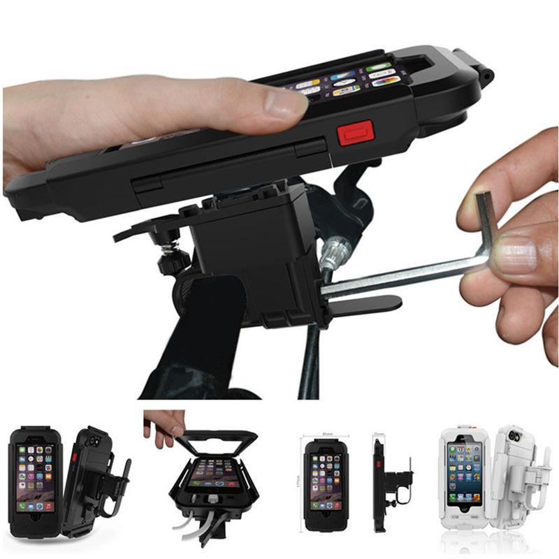 Waterproof Bike Motorcycle Handbar Case For iPhone 7 Pl