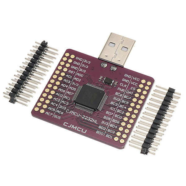 CJMCU-2232 FT2232HL USB TURN UART/FIFO/SPI/I2C/JTAG/RS2
