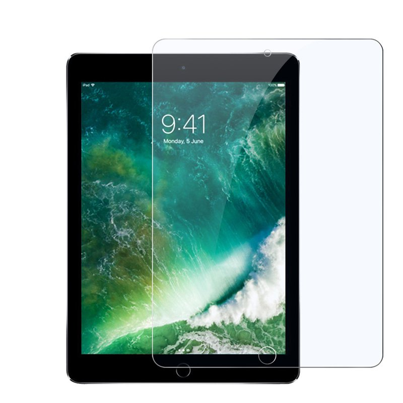 2.5D Curved Tempered Glass Screen Protector For iPad Pr