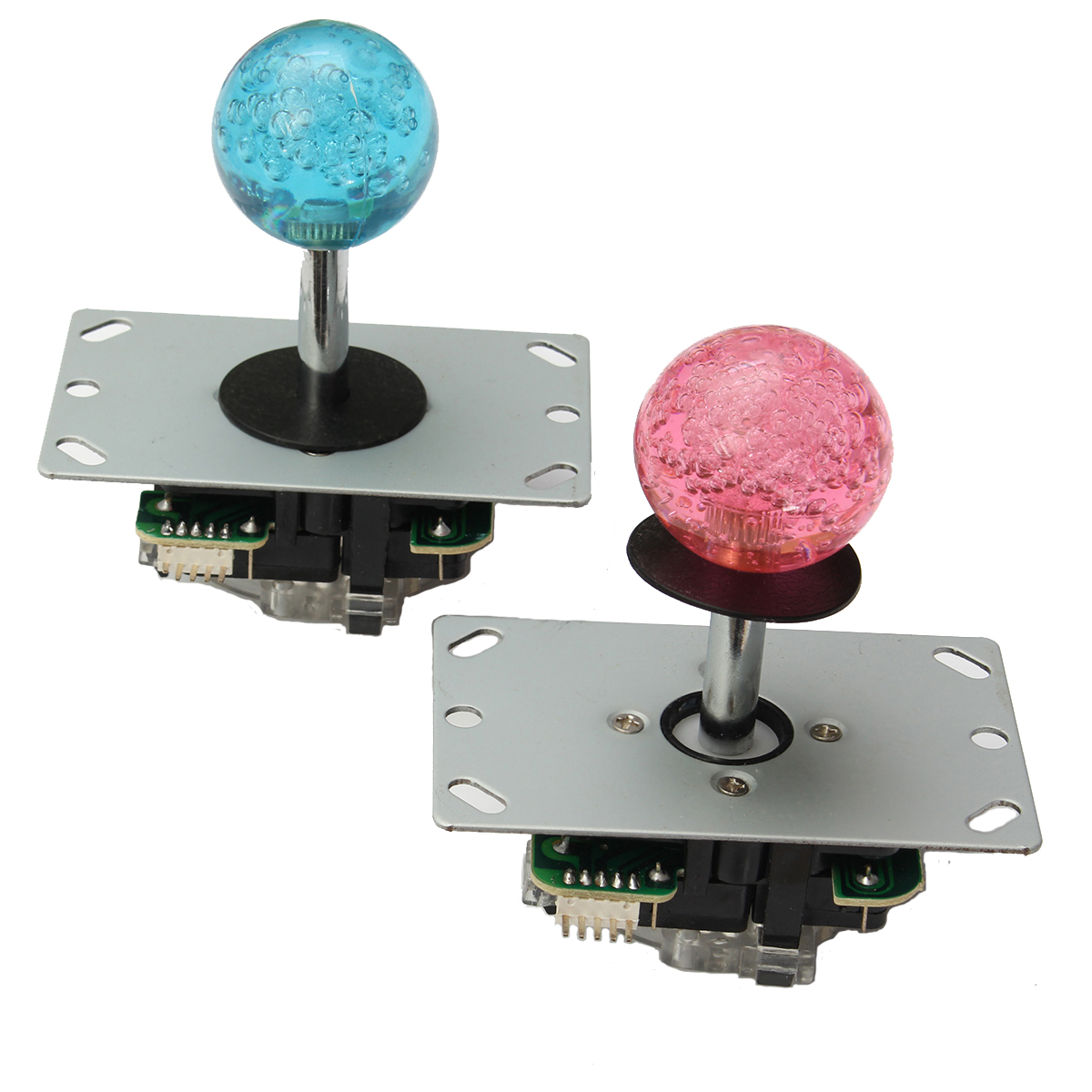 Arcade LED MAME 2 Player USB Bundle Kit 2 PC Joystick 4