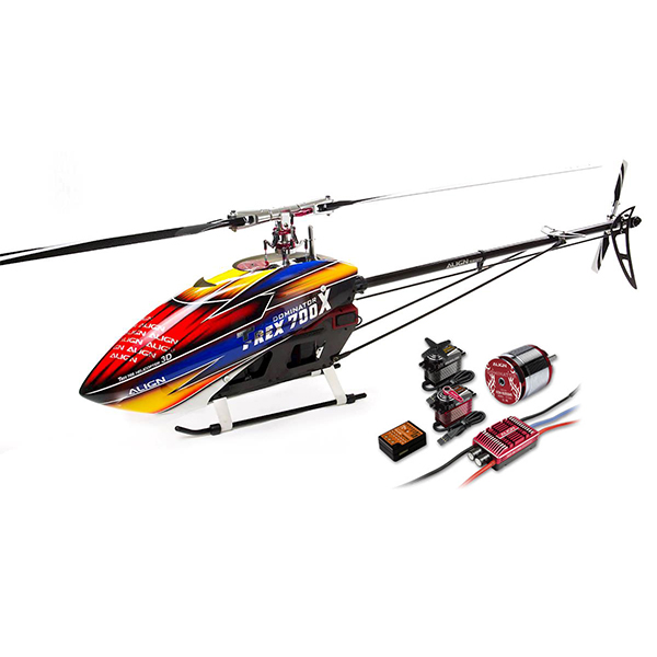 Align TREX 700X Dominator RC Helicopter Super Combo